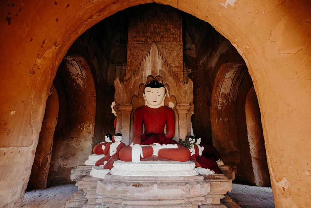 Stále budete pod dohledem Budhy