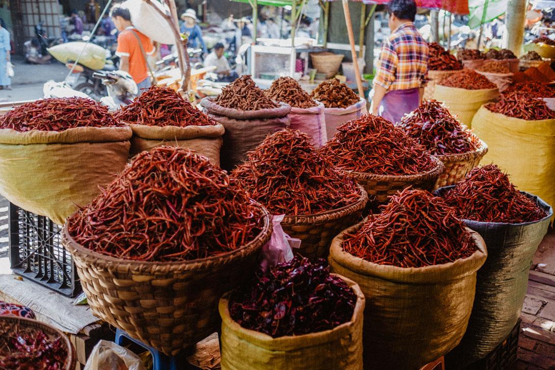 Barmánci si rádi pochutnají na ostřejším jídle