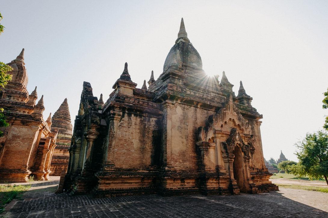 Čeká tu na vás přes 2000 chrámů, pagod a stúp