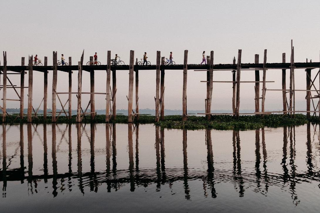 Most u Bein v Mandalaj