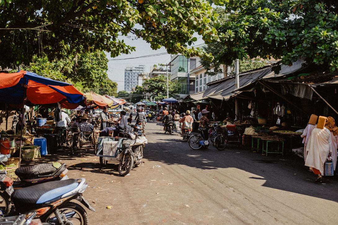 Tržnice v Mandalaj