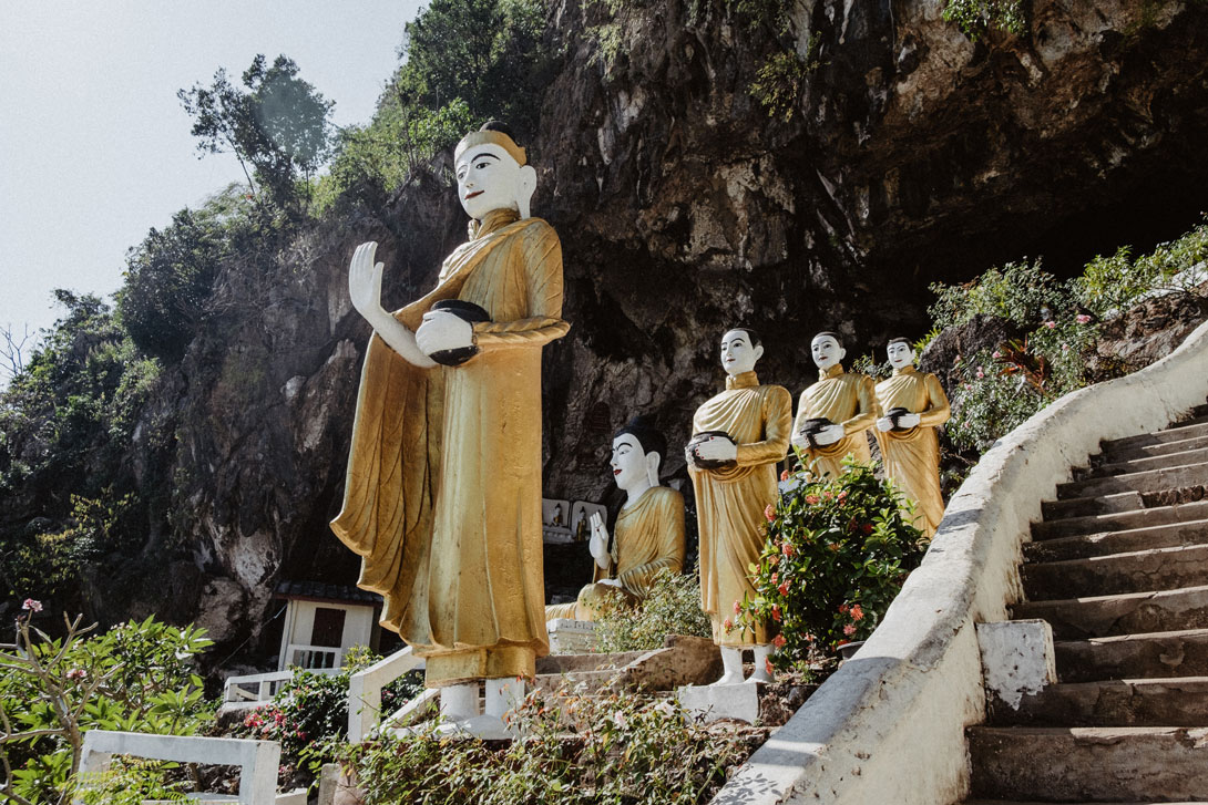 Vstup do Opice u Yat Hae Pyan Cave
