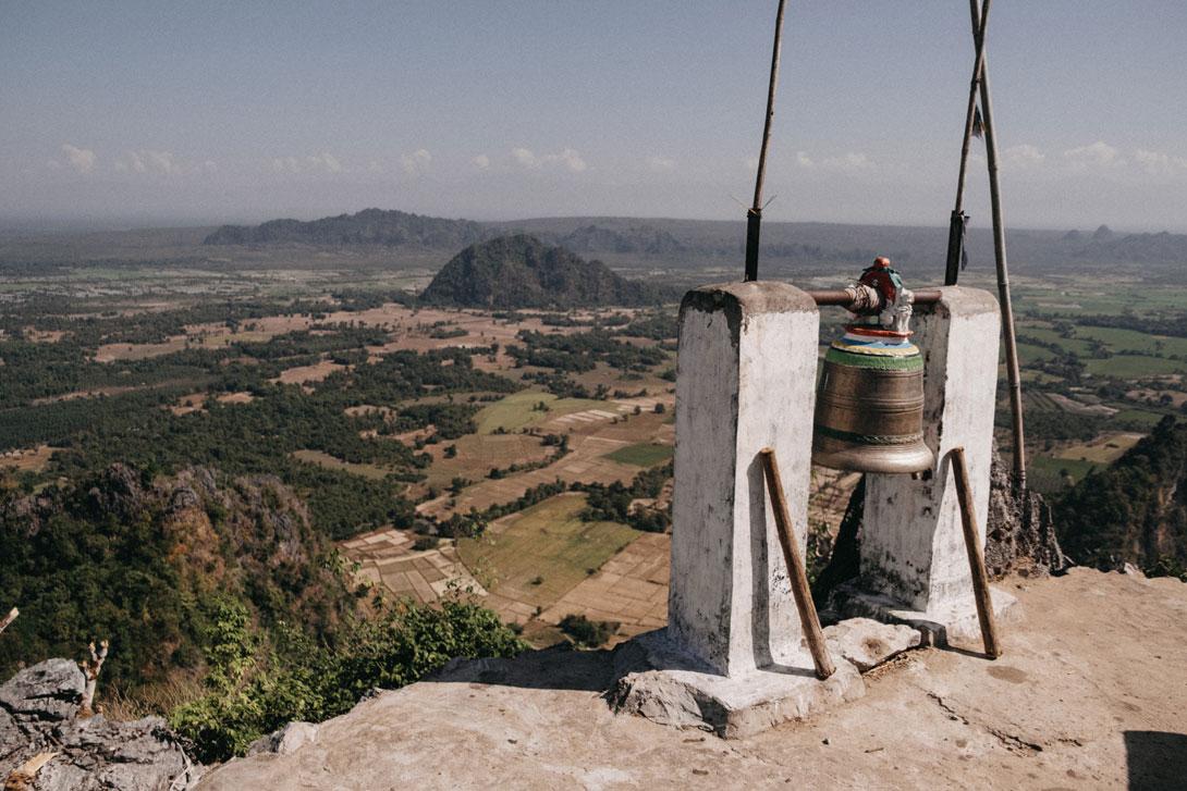 Zvon na Taung Wine Pagodě