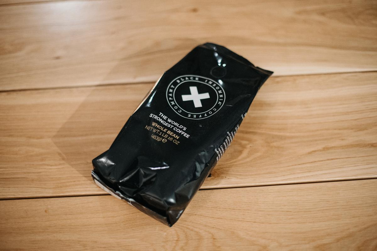Black Insomnia a recenze nejsilnější kávy na světě